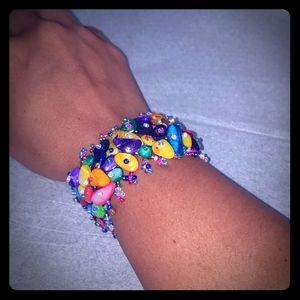 2/$15 Colorful Bead Bracelet
